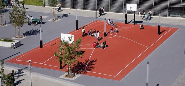 Oh My Gosh! It's the World's Craziest Basketball Court!