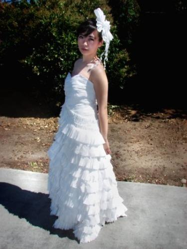 I Just Saw Some Toilet Paper Dresses!
