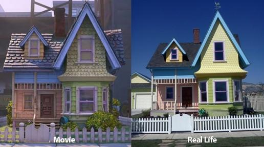 "There's A House That Looks Like The House in ""UP"""