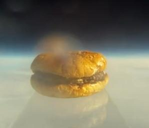 Is That A Burger? In Space?!